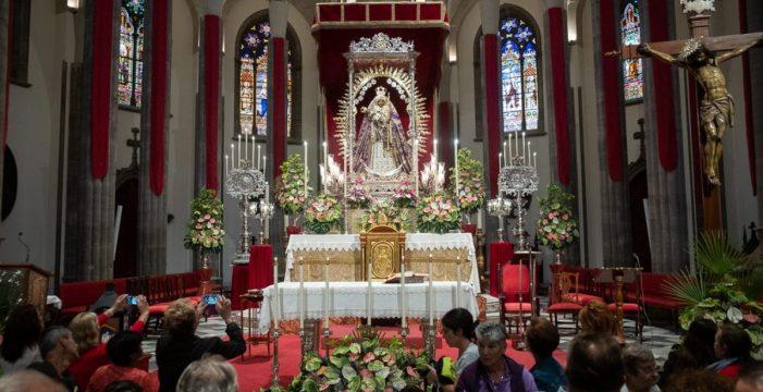 Aguere honra a la Patrona con ocho días de cultos religiosos