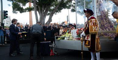 La Patrona ya es Presidenta Honoraria del Cabildo de Tenerife