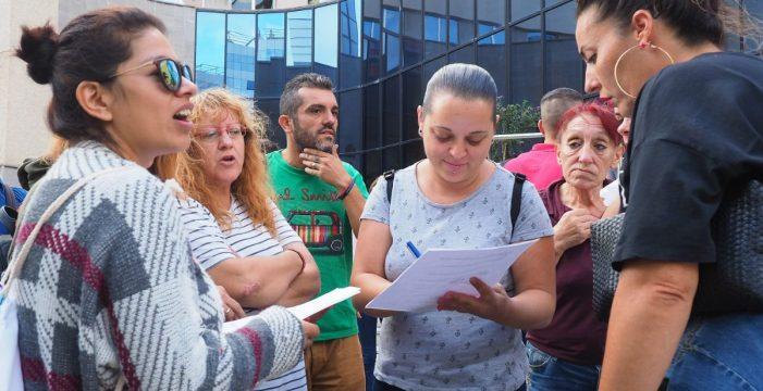 Arranca la guerra judicial contra el desahucio de 358 familias en Añaza