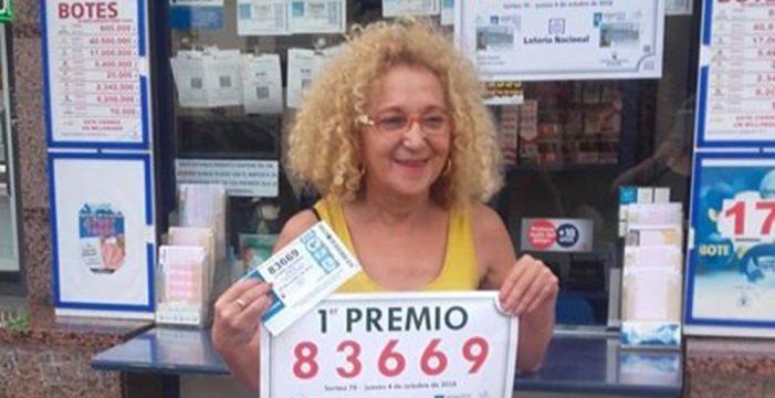 El primer premio de la Lotería Nacional cae en Puerto de la Cruz