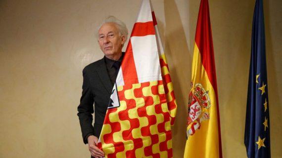 Boadella, actor y presidente de Tabarnia, hoy en Tenerife; mañana y el sábado, en el Guimerá
