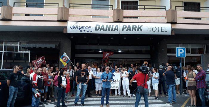 El propietario del hotel Dania deja abierta la vía del diálogo con el personal