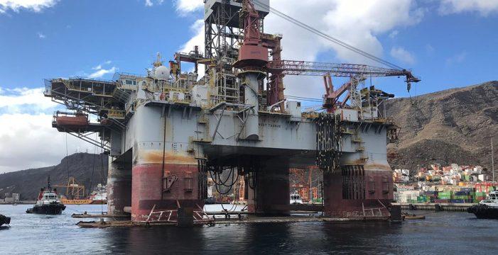 El puerto de Granadilla recibe hoy su tercera plataforma petrolífera