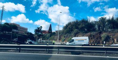 Al menos cinco heridos en tres accidentes acaecidos en las carreteras de las Islas