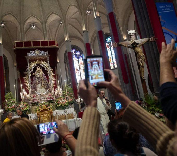 La Virgen ya conoce  la 'nueva' Catedral de La Laguna
