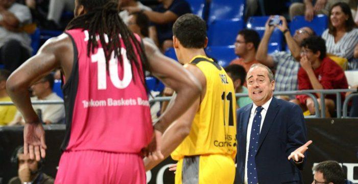 El Iberostar Tenerife se mantiene líder de su grupo tras ganar con rotundidad al Fribourg (91-68)