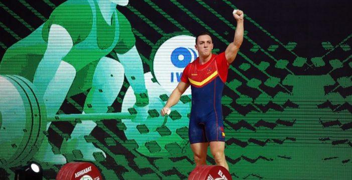 Andrés Mata logra tres nuevos récords de España para acabar décimo en hasta 81 kilos