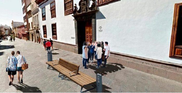 Apuesta por reducir el mobiliario urbano del casco histórico de La Laguna
