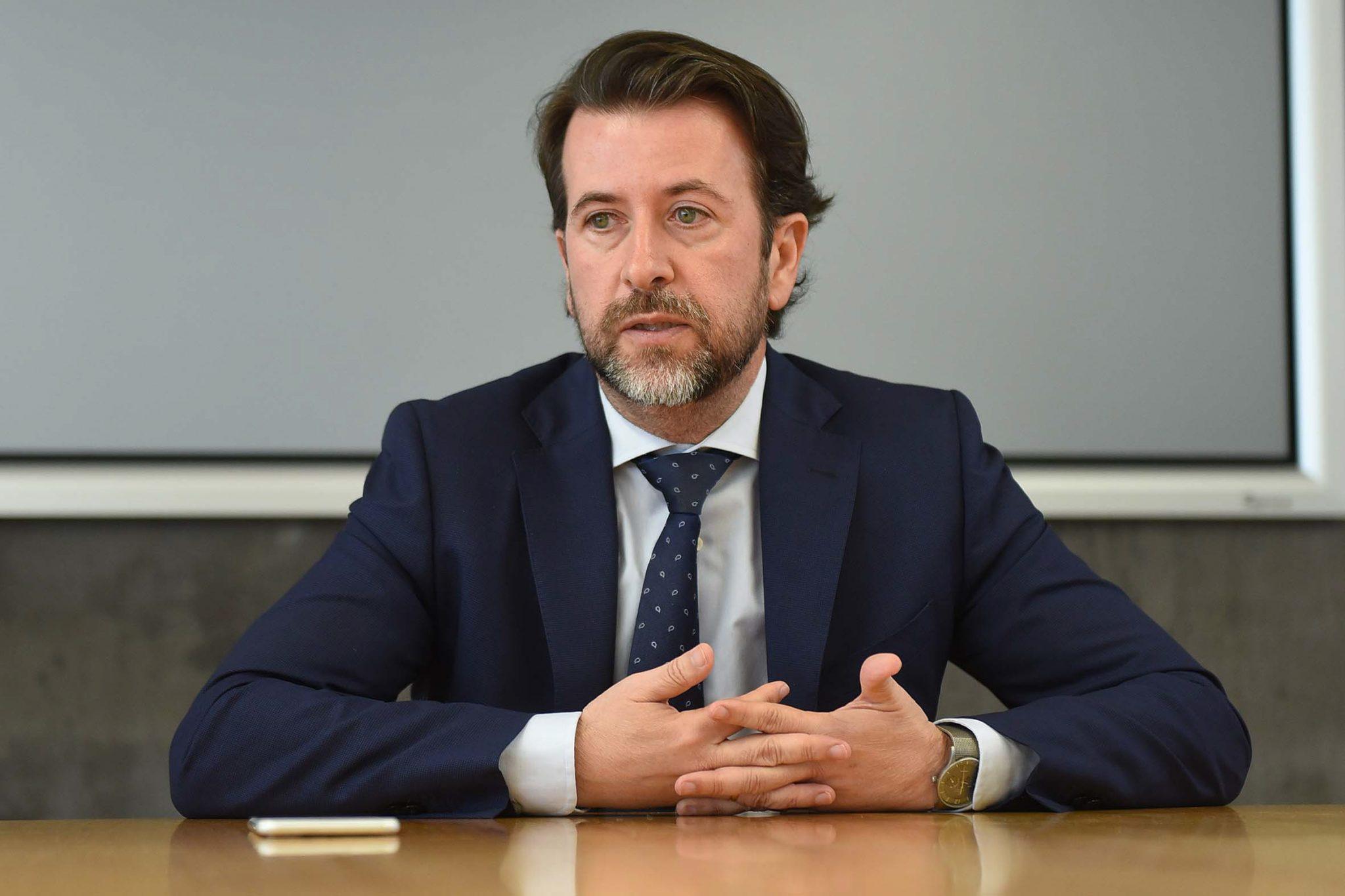 El presidente del Cabildo de Tenerife, Carlos Alonso (CC)