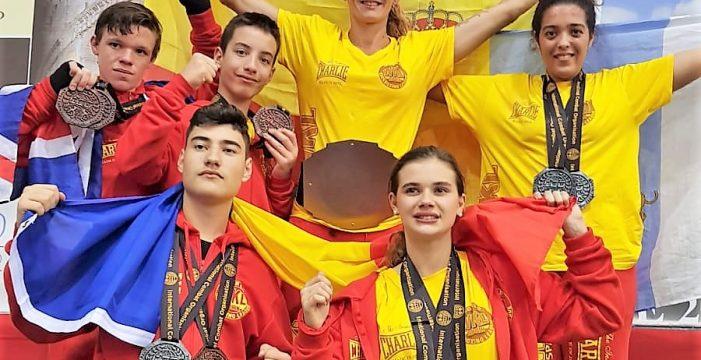 La escuela de Mar Rodríguez se trae once medallas del Mundial de Roma
