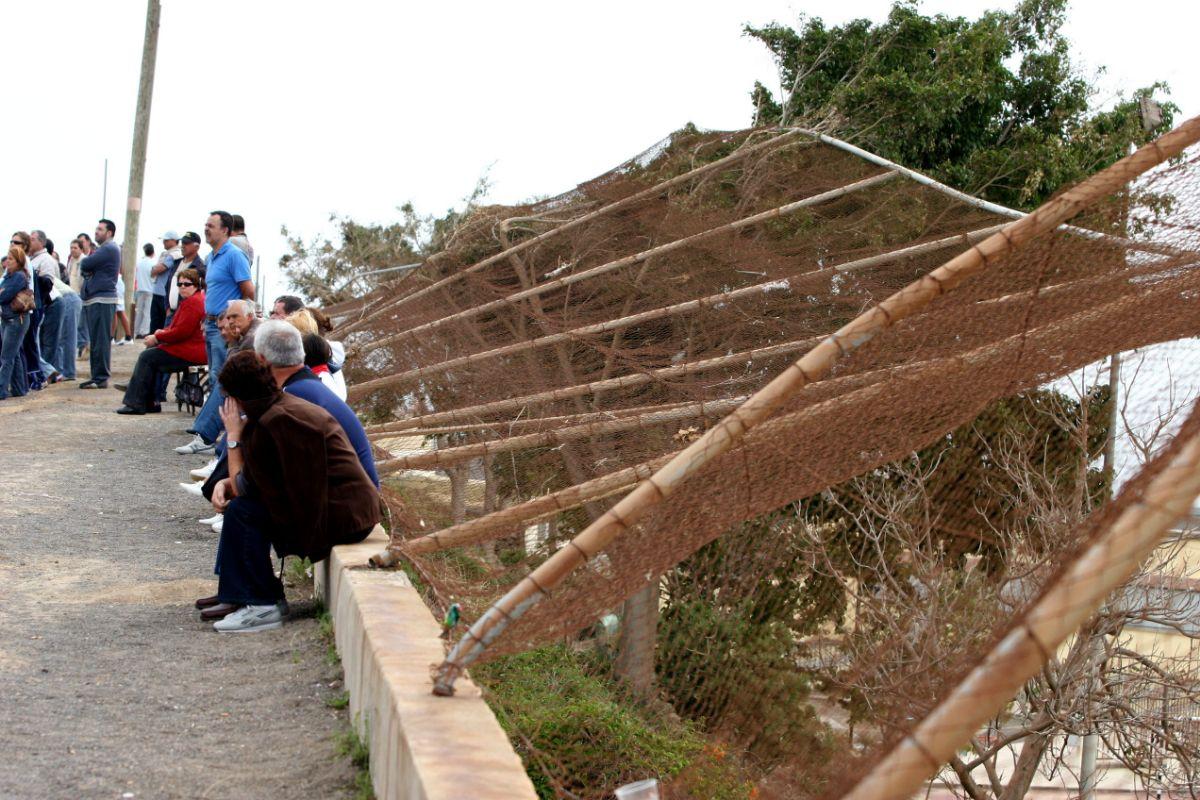 JCFOOTBALL09_350 INSTALACIONES DEPORTIVAS AFECTADAS POR EL DELTA ANDENES - OFRA JUVENILES