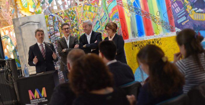 El Cabildo inaugura unas jornadas sobre artistas emergentes y turismo en el marco de Merkarte