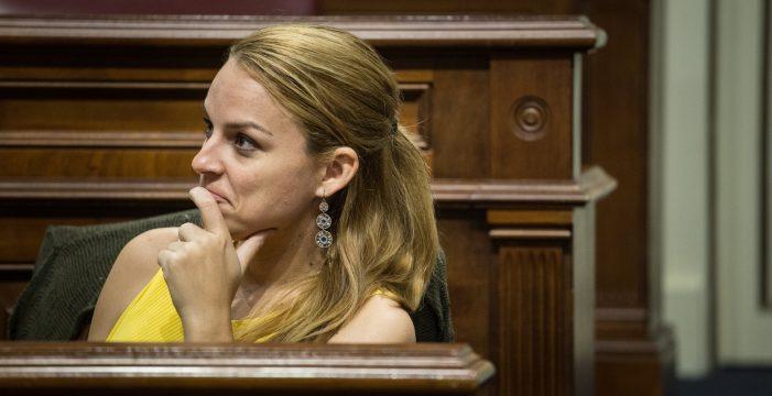 """Noemí Santana: """"Hemos sabido convertirnos en la principal oposición y fuerza antagónica al Gobierno de Clavijo"""""""