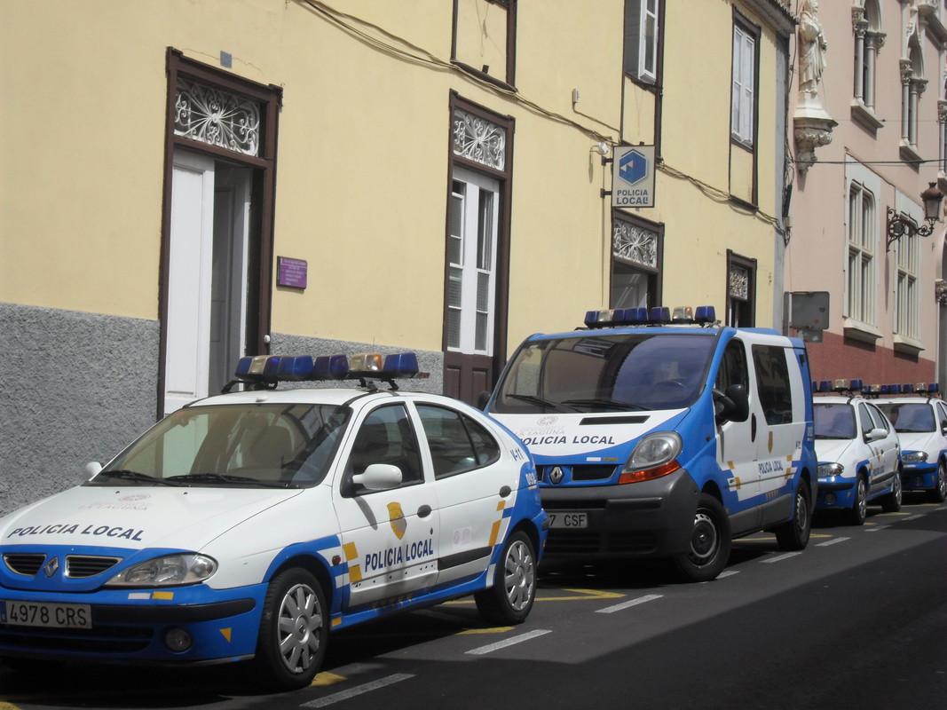 Sede central actual de la Policía Local de La Laguna.