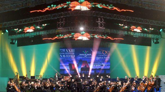La Fundación DIARIO DE AVISOS contribuye al XXV Concierto de Navidad del Puerto