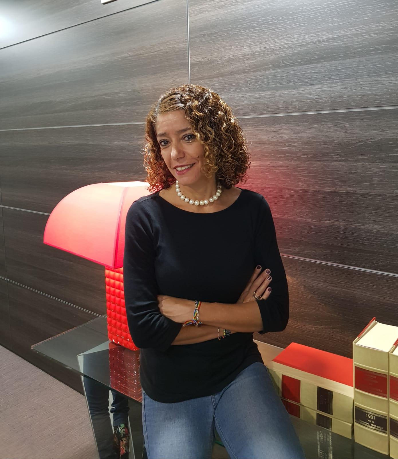 La abogada del grupo de XTF-NC en el caso Grúas, Sandra Roddríguez. DA