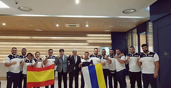 La selección de Canarias ya se encuentra en Corea del Sur
