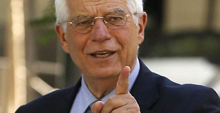 """Rusia convoca al embajador español en Moscú por unas """"declaraciones inamistosas"""" de Borrell"""