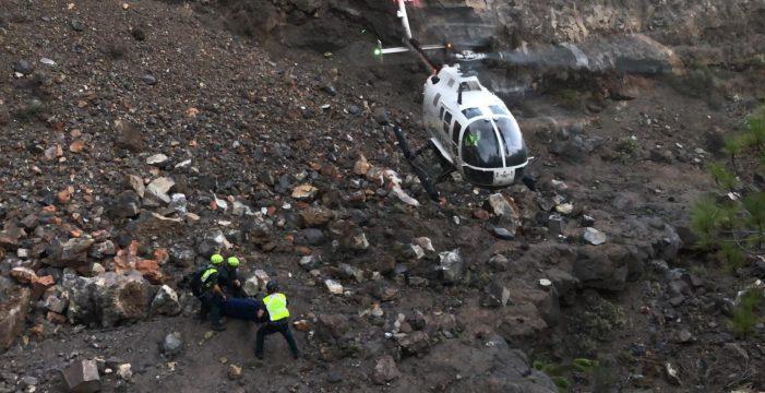 Fallece un cazador tras despeñarse por un barranco de Fasnia
