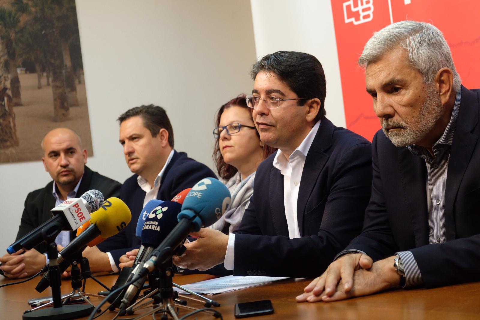 Pedro Martín, durante la reunión. / Fran Pallero