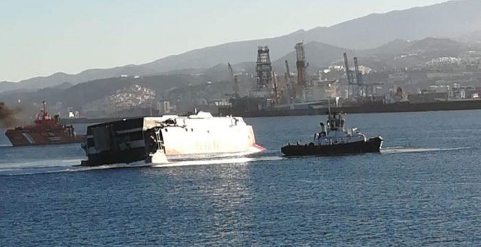 Rescatan a tres personas que cayeron al mar tras chocar un ferry de Armas y un barco y otras 4 noticias que debes conocer