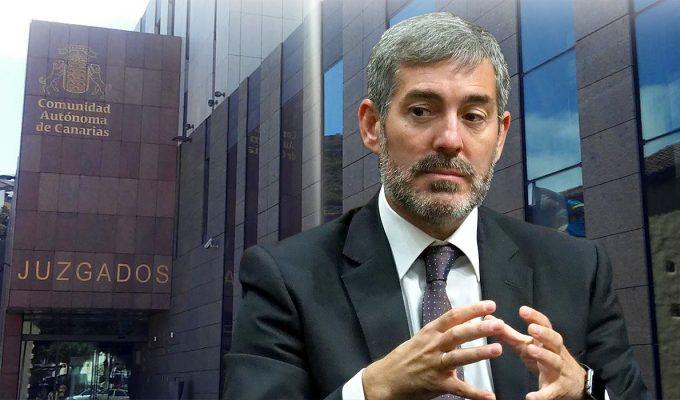 """Clavijo anuncia acciones legales por las """"anomalías"""" de la Fiscalía General del Estado"""
