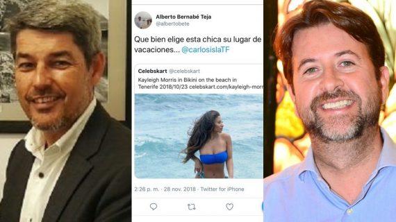 """La machista conversación de Bernabé y Alonso: """"Qué bien elige esta chica su lugar de vacaciones"""""""