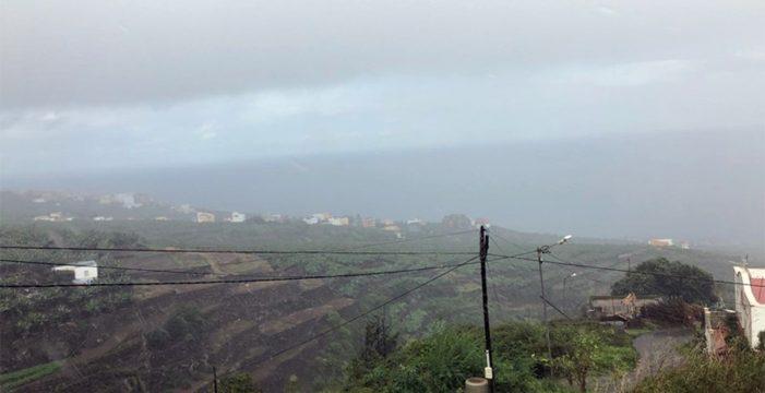 San Andrés y Sauces, el municipio de la provincia donde más ha llovido