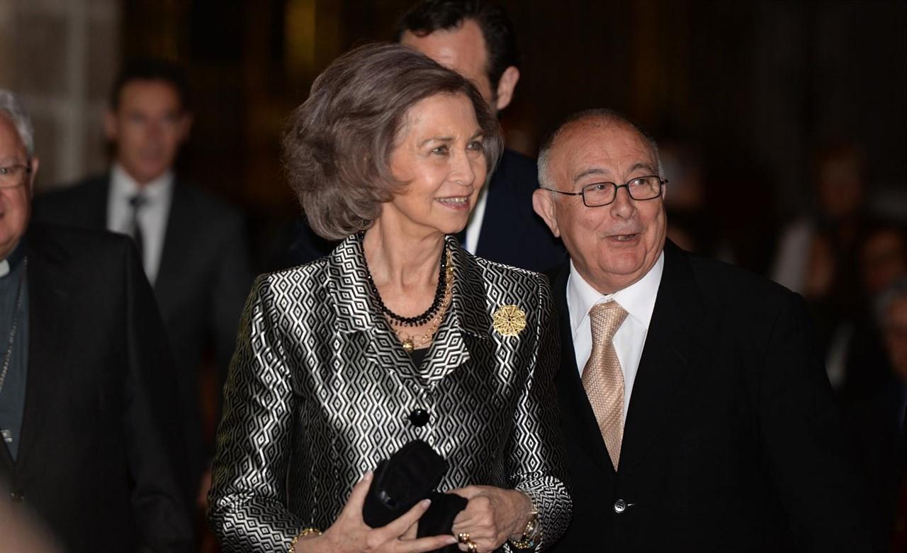 La Reina Sofía celebra su 80 cumpleaños con su familia al completo. / EP