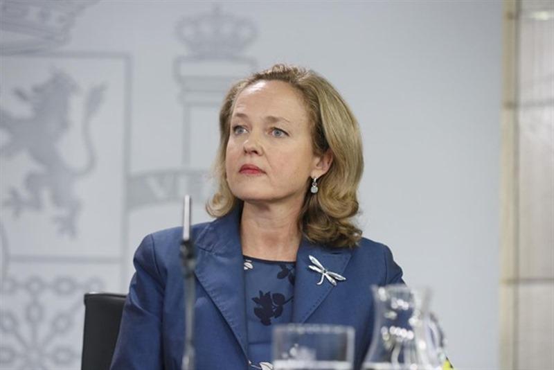 La ministra de Economía y Empresa, Nadia Calviño. / EP