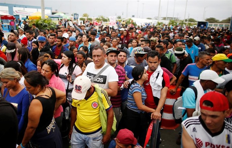 Los inmigrantes y refugiados venezolanos en todo el mundo superan ya los tres millones. / EP