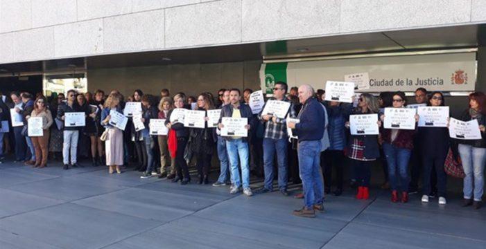 Unos 2.500 trabajadores de la Administración de Justicia están llamados este viernes a la huelga en Canarias