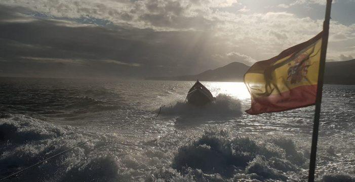 Interceptan en Fuerteventura una patera con 3 posibles pescadores magrebíes