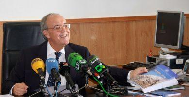 """Garrido dice que """"cuesta entender"""" el voto particular del presidente del TSJC en el caso Grúas"""