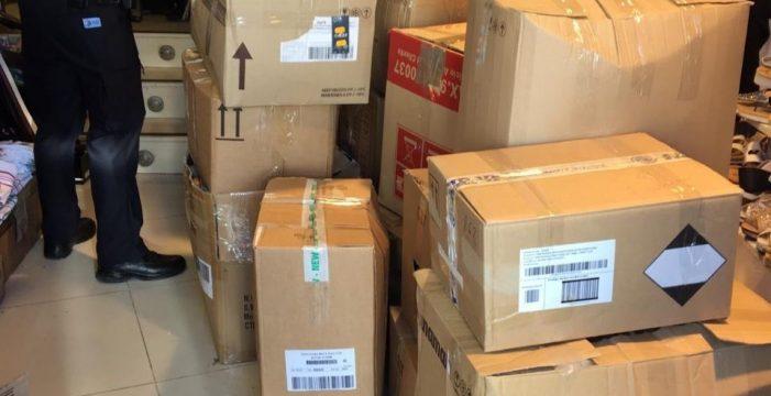Intervienen 600 artículos de marcas de prestigio falsificados en Lanzarote
