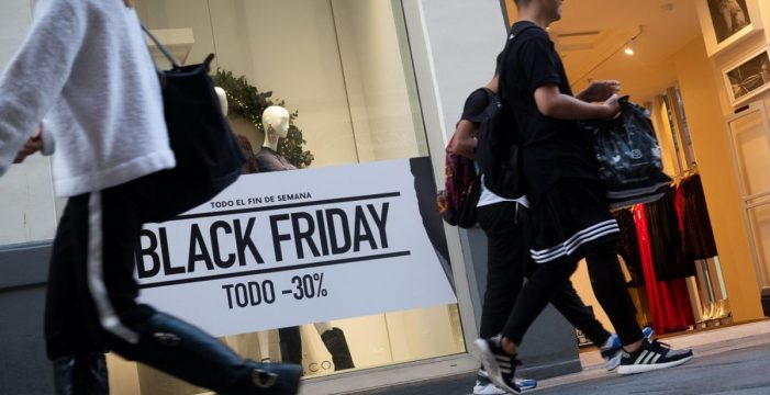 Ni la lluvia puede con el Black Friday: éxito rotundo en ventas