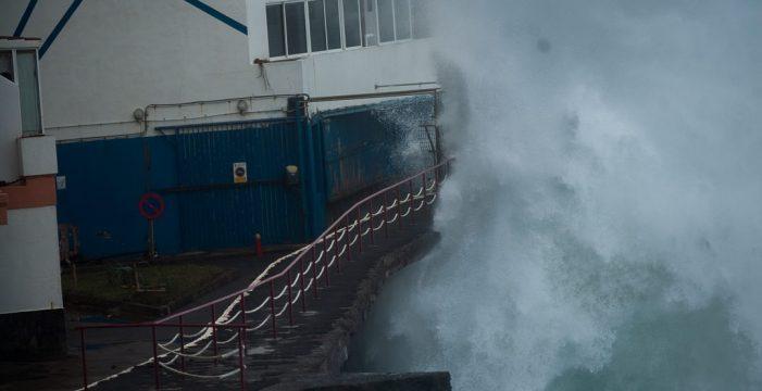 Cifran en 335.000€ los daños ocasionados por el temporal en Tacoronte