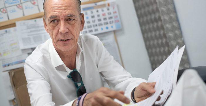 """Manuel Fitas: """"El 95% de los fondos sindicales se usa para la cesta de Navidad y para los trabajadores"""""""