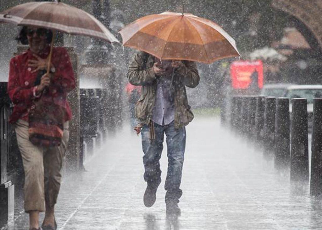 Lluvia en Santa Cruz. / DA