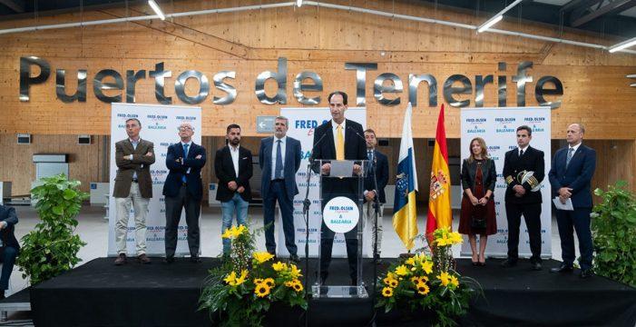 Fred Olsen y Baleària proponen realizar viajes diarios a Huelva