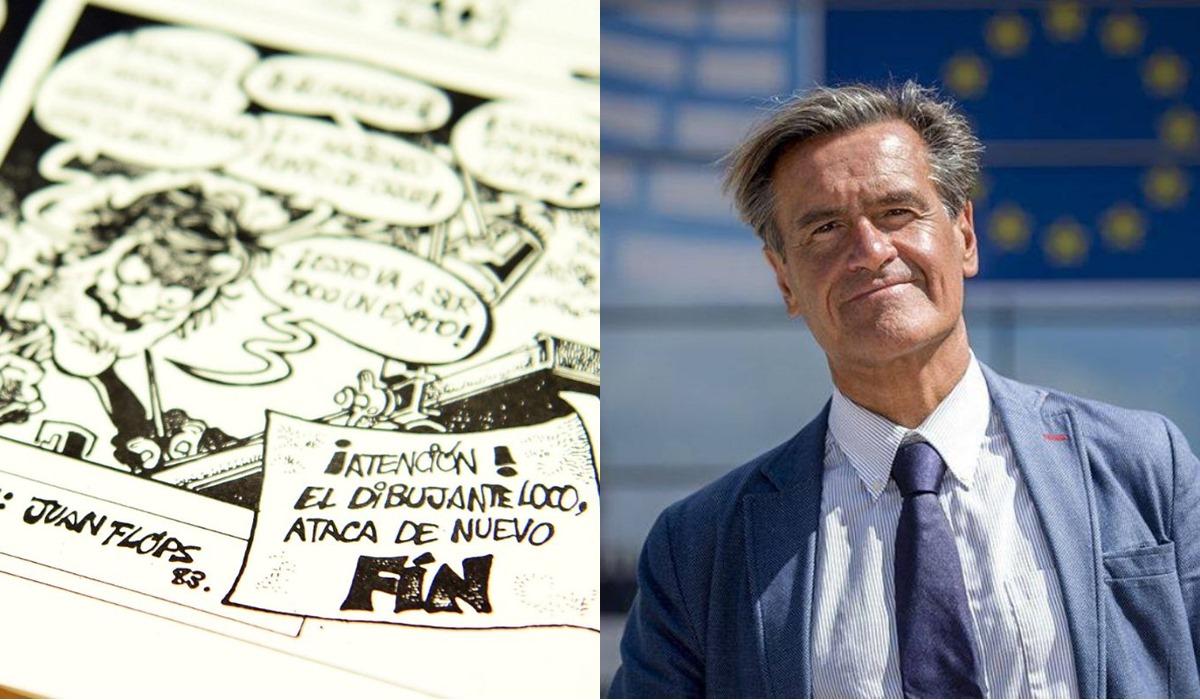 López Aguilar, entre los participantes del Salón del Cómic de la capital tinerfeña
