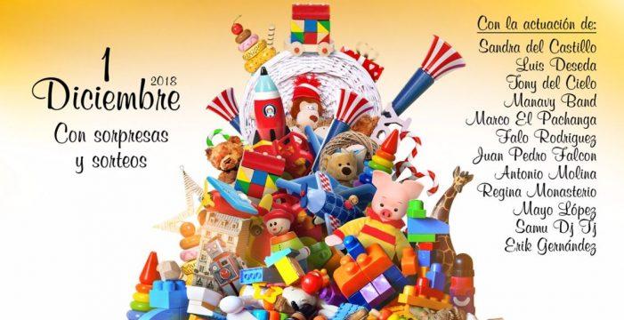 Güímar acoge este sábado una recogida solidaria de juguetes