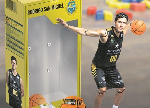 Rodrigo San Miguel, amante del deporte desde pequeñito