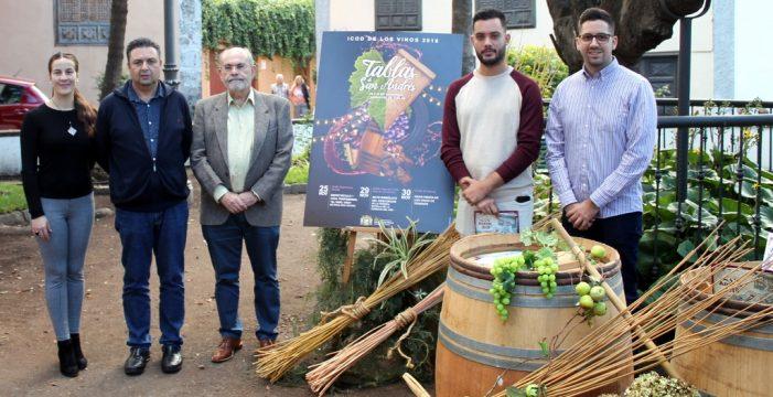 Noviembre llega a Icod de los Vinos con sabor a vino, castañas y el arrastre de las tablas