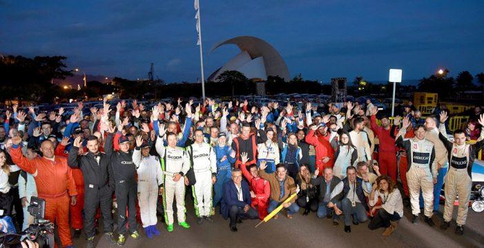 Rally Isla de Tenerife: el líder Enrique Cruz no se puede fiar de Lauren García