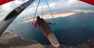 El impresionante viaje de Tom sobre Lanzarote que te va a dejar con la boca abierta