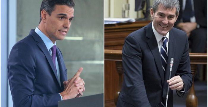 Clavijo se va a Madrid mientras Sánchez llega a Lanzarote para unas  vacaciones