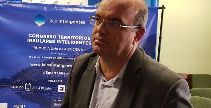 Anselmo Pestana quiere situar a La Palma en la vanguardia del desarrollo sostenible