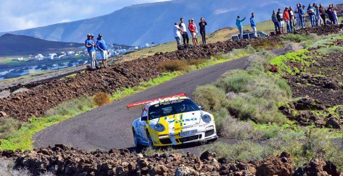 Enrique Cruz y Yeray Mujica, campeones de Canarias de Rallys 2018