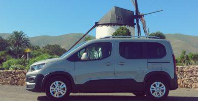 La atractiva Peugeot Rifter llega a las Islas